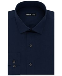 Unlisted Kenneth Cole Men's Slim Fit Solid Dress Shirt Blue
