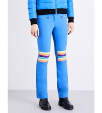 Perfect Moment Aurora Flared Stretch Trousers Royal Rainbow
