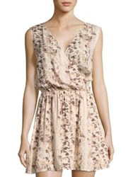 L Space Kitty Printed Dress Natural