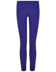 Monreal Joy Blue Athlete Leggings Purple
