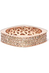 Ofira 18 Karat Rose Gold Diamond Ring