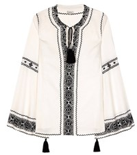 Talitha Embroidered Blouse White