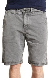Men's Lucky Brand Twill Walking Shorts Charcoal