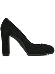 Tod's Round Toe Pumps Black