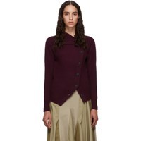 Isabel Marant Purple Cashmere Chass Cardigan