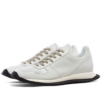 Rick Owens Lace Up Runner White