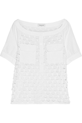 Paul And Joe Eiko Broderie Anglaise Cotton Top