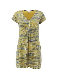 White Stuff Exotic Jersey Tunic Yellow