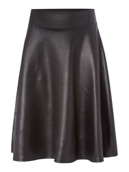 Therapy Pu A Line Skirt Black
