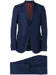 Gucci Monaco Two Piece Suit Blue
