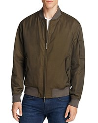 Boss Bomber Jacket 100 Bloomingdale's Exclusive Olive