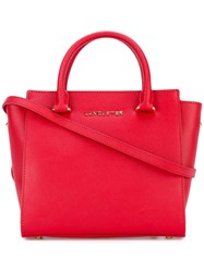 Lancaster Adeline Tote Women Leather One Size Red