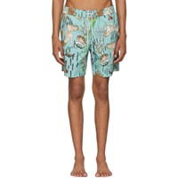 Loewe Blue Paula's Ibiza Edition Mermaid Swim Shorts