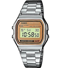 Casio A158wea9ef Unisex Stainless Steel Watch Silver