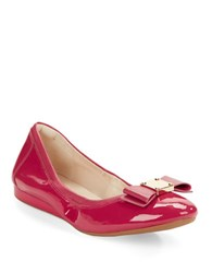 Cole Haan Tali Bow Ballet Flats Pink