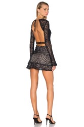 For Love And Lemons Emerie Cut Out Dress Black