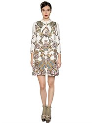 Antonio Marras Printed And Embellished Jacquard Coat