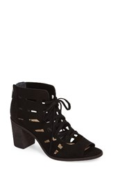 Vince Camuto Women's Tressa Perforated Lace Up Sandal