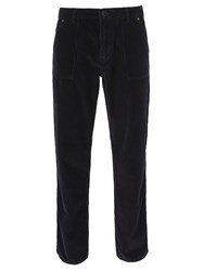 John Lewis And Co. Cord Drill Trousers Navy