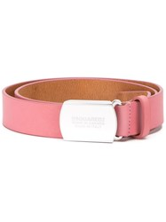 Dsquared2 Classic Belt Pink And Purple