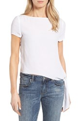 Rd Style Women's Side Tie Blouse White