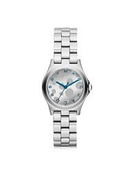 Marc By Marc Jacobs Henry Glossy Pop Bracelet Watch Silver