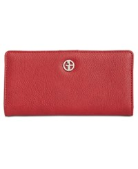Giani Bernini Boxed Bifold Wallet Created For Macy's Red