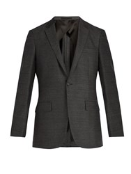 Kilgour Single Breasted Wool Blazer Grey
