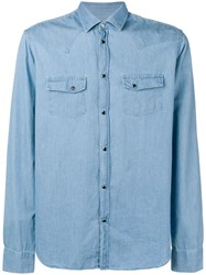 Macchia J Texana Denim Shirt Blue