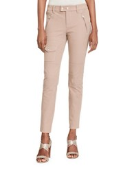 Lauren Ralph Lauren Petite Stretch Cotton Cargo Pants Truffle
