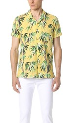 Scotch And Soda Short Sleeve Cotton Slub Shirt Combo D