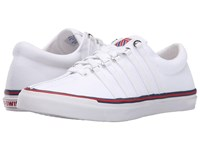 K Swiss Surf 'N Turf Og 50Th 50Th White Classic Blue Ribbon Red Canvas Women's Shoes