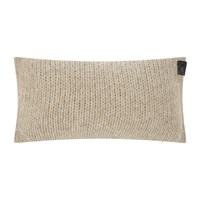 Zoeppritz Since 1828 Knitty Alpaca Wool Cushion 30X50cm Sandstone