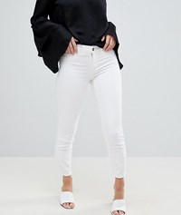 Vila Skinny Jean Optical Snow White