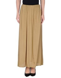 Made For Loving Long Skirts Military Green