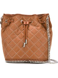 Stella Mccartney 'Falabella' Bucket Shoulder Bag Brown