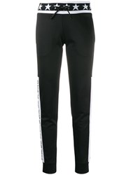 Philipp Plein Drawstring Track Trousers Black