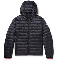 Moncler Giroux Quilted Shell Down Jacket Navy