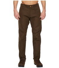 Fjall Raven Fjallraven Sormland Tapered Trousers Dark Olive Casual Pants