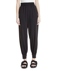 Marc Jacobs Tapered Legs Pull On Jogger Pants Ivory