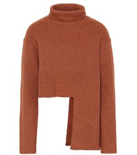 Ellery Vallauris Wool Blend Sweater Brown