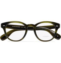 Oliver Peoples Cary Grant Round Frame Acetate Optical Glasses Green