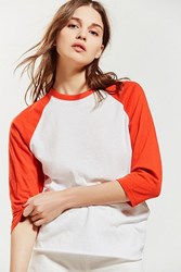 Urban Outfitters Uo The Little Sister Tee Red