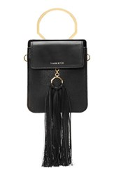 Louise Et Cie Julea Leather Black Jet Black
