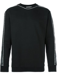 Mcq By Alexander Mcqueen Piped Sweatshirt Black