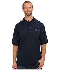 Columbia Perfect Cast Polo Tall Collegiate Navy Men's Clothing
