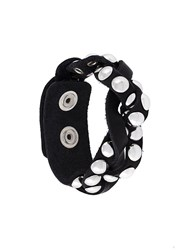 Dsquared2 Studded Bracelet Black