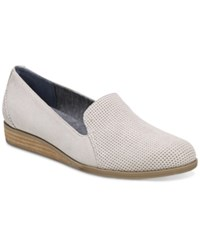 Dr. Scholl's Dawned Peforated Wedges Women's Shoes Grey