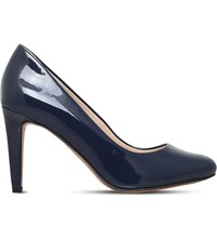Nine West Handjive Patent Leather Court Shoes Navy