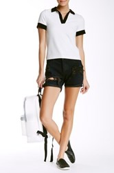 One Teaspoon Charger Relaxed Fit Short Black